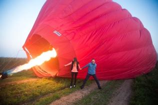 Предложение руки на воздушном шаре (26.09.2016)