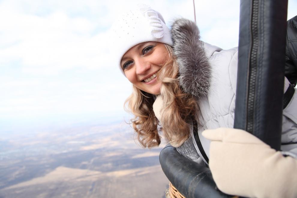 Зимние полеты на воздушном шаре